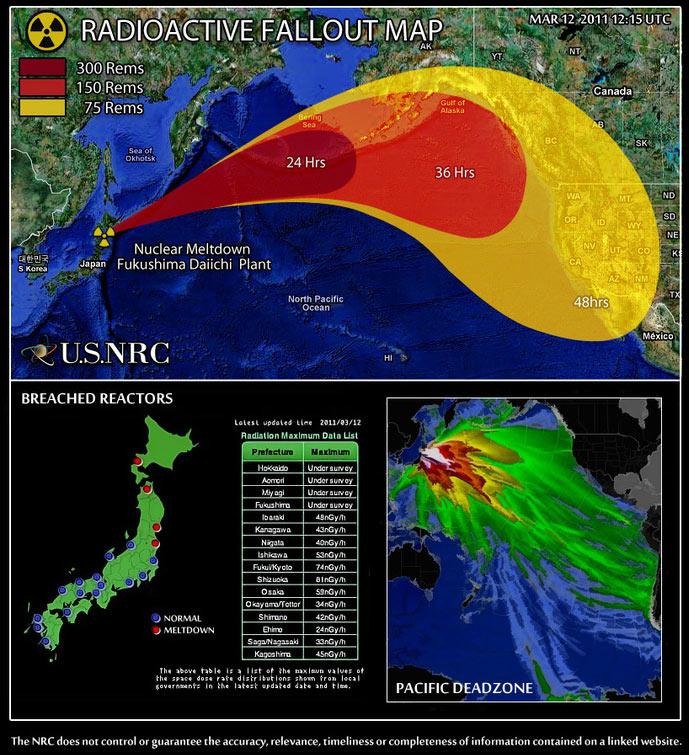 атомной станции «Фукусима»